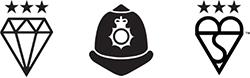 Quality police logo